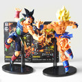 22cm Dragon Ball Z Resurrection F Super Saiyan Son Goku Bardock PVC Action Figure Collectible Model Doll Toys With Box
