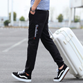 TG6343 Cheap wholesale 2017 spring new Foot haroun men's casual straight cultivate one's morality pants wet pants