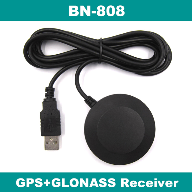 US $15 0 |USB GLONASS GPS receiver M8030 Dual GNSS receiver module  antenna,FLASH,laptop PC,BN 808,better than BU 353S4-in GPS Receiver &  Antenna from