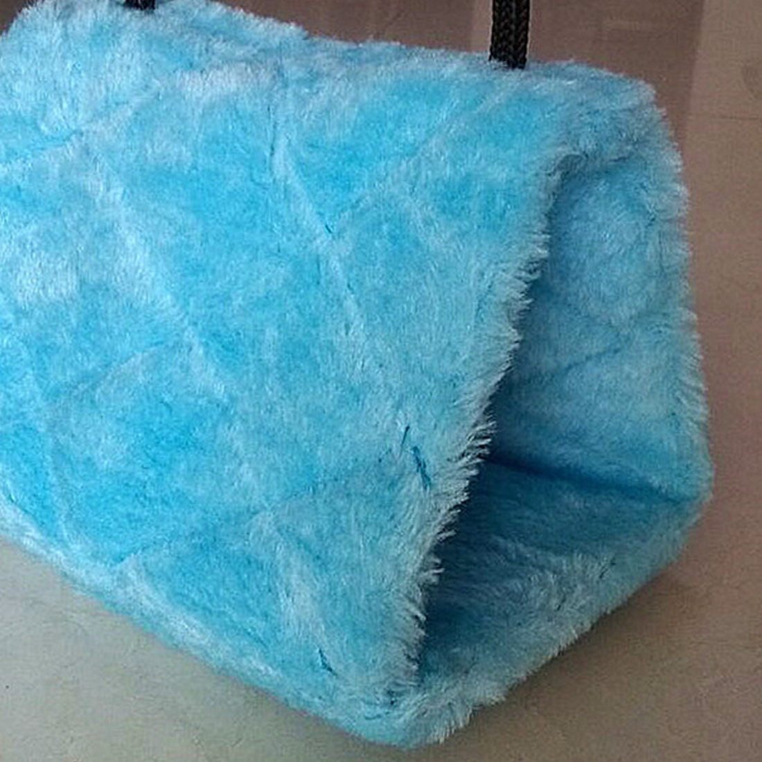 Pure Color Bird Parrot Plush Hammock Cage Snuggle Happy Hut Tent Bed Bunk Toy Hanging Cave High Quality
