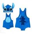 Bebé del traje de baño de modelado puntada ropa de playa traje de baño para niños de dibujos animados bebé infantil kids boy trajes de baño de una sola pieza con tapa