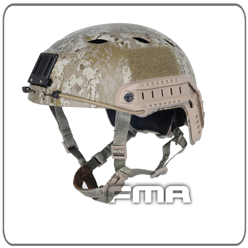 FMA Military Desert Tactical Accessories Army Combat Skydiving Quick Response Head Protector Helmet Free Shipping fma maritime helmet multicam black tb1084
