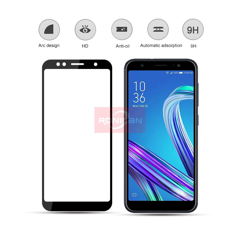 FUll Cover Tempered Glass For Asus Zenfone 3 Max ZC520TL ZB553KL ZD553KL ZC553KL ZE520KL ZE552KL Live ZB501KL Screen Protector