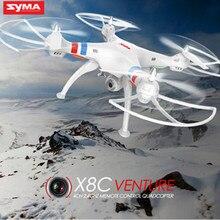 Syma Original X8C Profesional UAV 6 Ejes con 2MP cámara Granangular HD Cámara RC Quadcopter Drone RTF Helicóptero shatter resistant