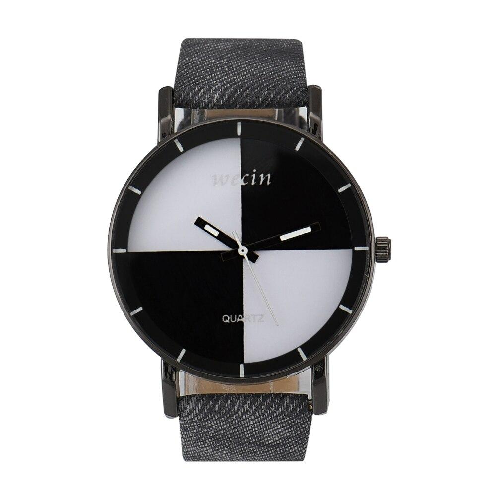 Hot Sales Colorful Dial Canvas Watches Women Ladies Men Dress Quartz Wristwatch Relojes Mujer New WECIN W-5