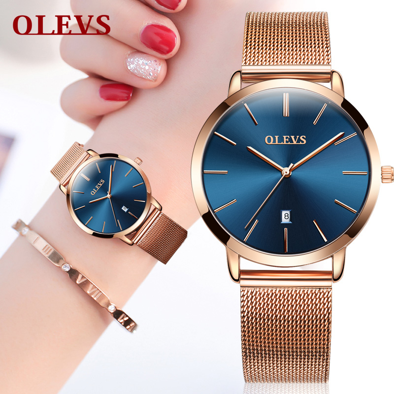Women watches rose gold 2018 brand luxury Watch Lovers Couple Wrist watches for men and women Colck Casual Japanese movement NEW women watches rose gold 2018 brand luxury watch lovers couple wrist watches for men and women colck casual japanese movement new