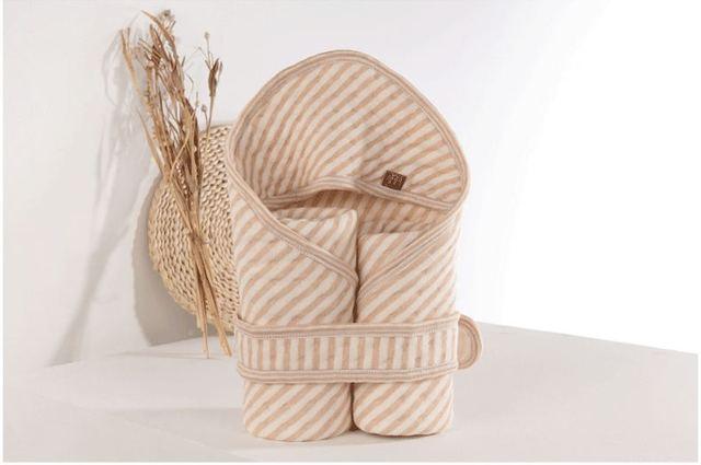 Alta qualidade de algodão recém-nascidos cobertor bathrope swadding bebê receber cobertor quente e macio roupão de banho infantil J059