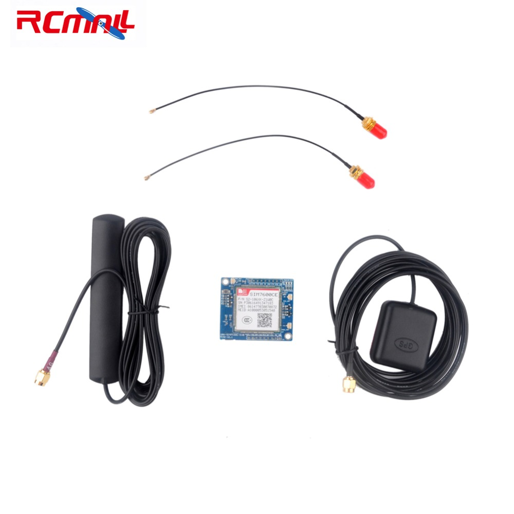 RCmall SIM7600CE 4G Development Board for Arduino Raspberry Pi 5-18V Android Linux Windows FZ2846