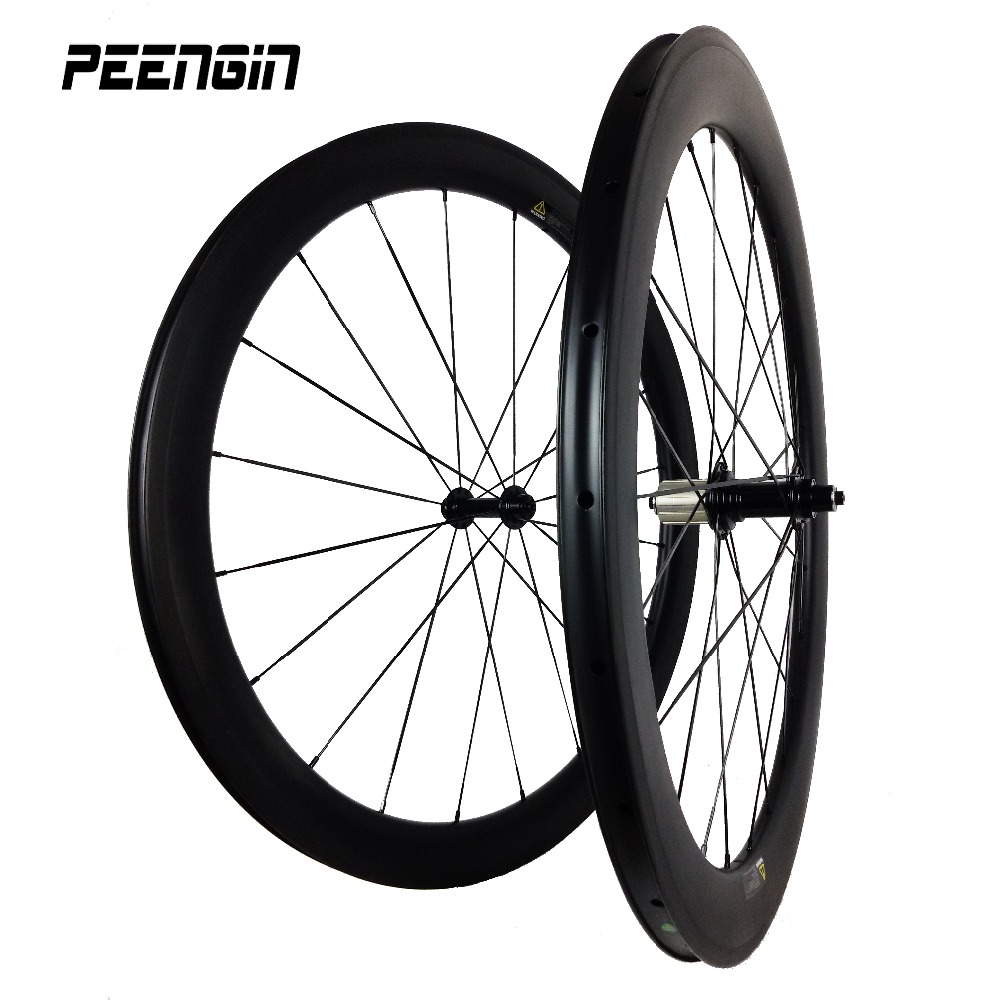 clincher carbon bicycle mixed wheel set rim 50mm+60mm 23wide road racing wheelsets Chinese bicycle parts online taiwan bike tech carbon road wheel ceramic bike hub 700c 88mm clincher racing wheel wholesale carbon road racing wheel