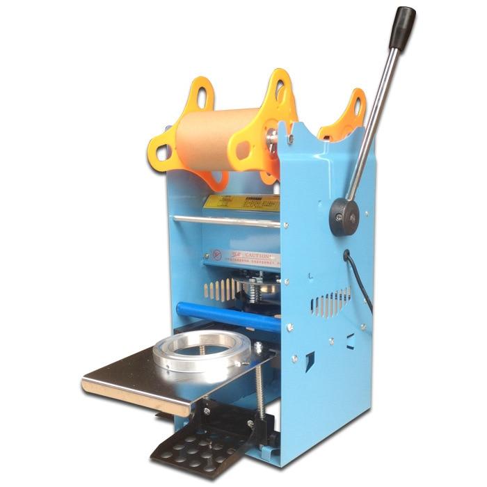 Free shipping manual milk tea shop special sealing machine plastic cup mung bean milk sealing machine цена 2017