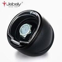 Jebely 블랙 싱글 시계 와인 더 자동 시계 자동 와인 더 다기능 5 모드 시계 와인 더 1 JA003