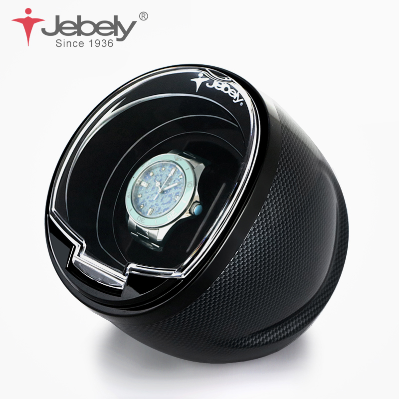Jebely Black Single Watch Winder For Automatic Watches Automatic Winder Multi-function 5 Modes Watch Winder 1 JA003