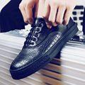 Venta caliente de Los Hombres Casuales Zapatos Para Caminar Cómodo Peso Transpirable de Encaje Hasta Zapatos Zapatillas Deportivas Hombre Zapatos Para Hombre Europeo