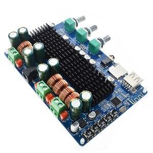 Image 3 - TPA3116 50 Вт + 50 Вт Bluetooth USB TF декодер 2,1 канала цифровой усилитель мощности плата 2,1 цифровой усилитель мощности