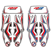 Motorcycle Rear Fairing Engine Vehicle sticker for BMW S1000RR 2012 2014 3D Edge Gel Protection Tank Paint pad 2013