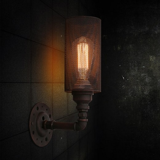 Loft Style Vintage Wall Light Fixtures Industrial Wind Edison Wall Sconce For Bedside Water Pipe Wall Lamp Home Lighting nordic loft style industrial water pipe lamp vintage wall light for home antique bedside edison wall sconce indoor lighting