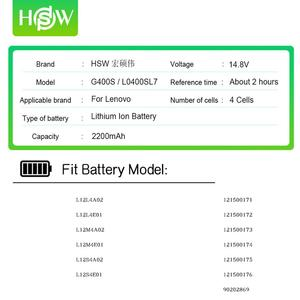 Image 2 - 14.8W 2200mAh G400S סוללה עבור Lenovo L12M4A02 L12S4A02 L12S4E01 L12L4A02 G410S G500 G500S G510S G405S G505S S410P S510P z710