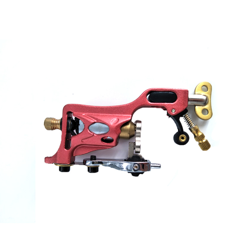 Tattoo Machine Rotary Tattoo Gun Shader and Liner Aluminum Red Professional Electric Body Art Tattoo Supply for Tattoo Artists in Tattoo Guns from Beauty Health