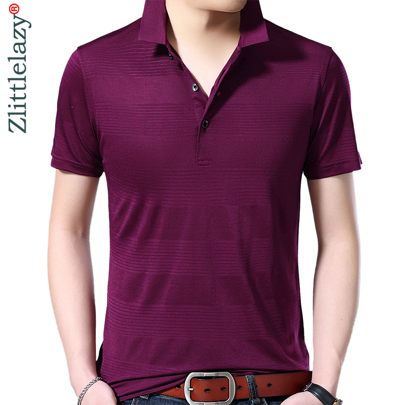 2019 brand casual summer solid short sleeve   polo   shirt men poloshirt jersey luxury mens   polos   tee shirts dress fashions 42241