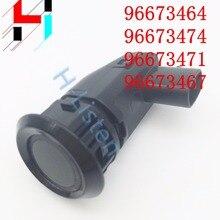 Sensori di parcheggio 96673467/96673464/96673474/96673471 per Chevrolet Buick trasporto libero Assistenza di Parcheggio Auto Sensore Nero