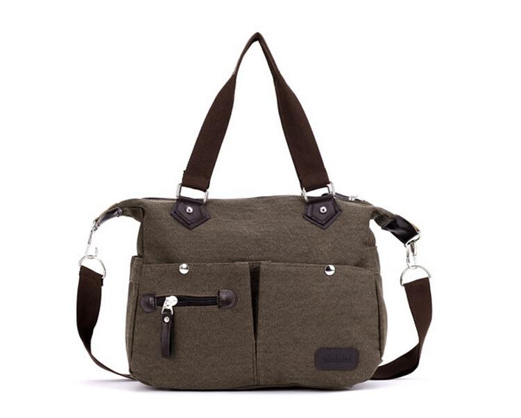 Fashion Travel High-grade Folding Canvas Women Hand Bags Shopping Bags Mummy Package Ms Portable Shoulder Bag LJ-347