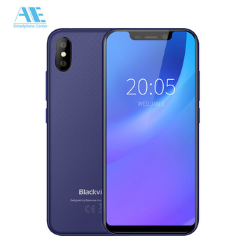 Blackview A30 5.5 19:9 All Screen Smartphone MTK6580A Quad Core Cellphone 8MP Dual Camera Face ID 2500mAh 2GB 16GB Mobile Phone smartphone