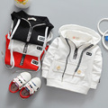 Children's coat 2017 spring the new children's clothing jacket boy zipper hoodie children's hoodies