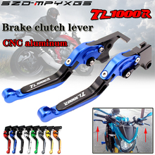 New high quality CNC retractable collapsible motorcycle brake clutch lever for Suzuki TL1000R TL1000 R 1998-2003 2002 2001 2000 стоимость