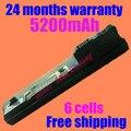 Jigu nueva batería del ordenador portátil 537626-001 537627-001 hstnn-170c 530972-761 530973-741 530973-751 para hp mini 110 xp edición 110-1006tu