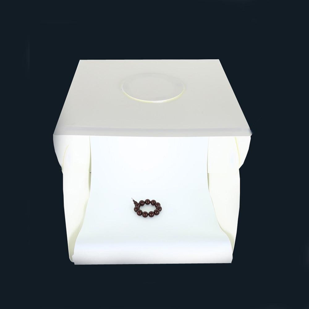 40*40 cm pliant Lightbox photographie Studio Softbox lumière LED Photo Studio boîte souple tir tente Softbox