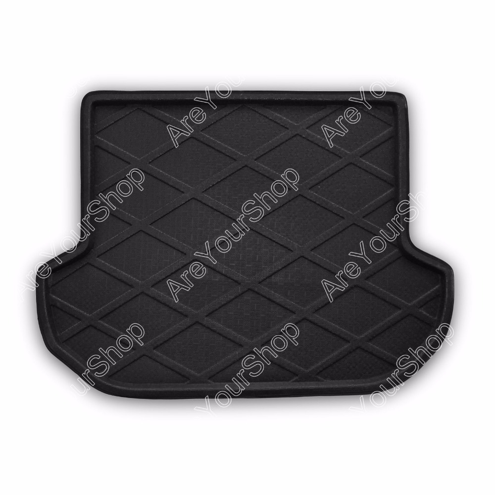 Auto Cargo Mat Boot liner Tray Rear Trunk Sticker Dog Pet Covers For Subaru Outback 2007 2008 2009-2014 Black Car-Styling Decal car rear trunk security shield cargo cover for volkswagen vw tiguan 2016 2017 2018 high qualit black beige auto accessories