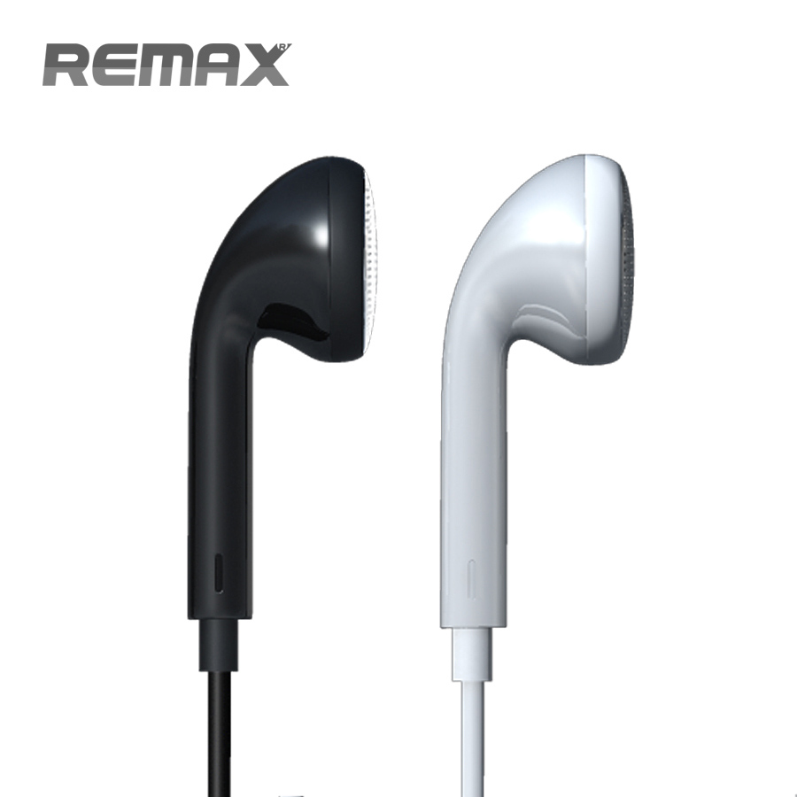 Original REMAX Earphone Headphones With Switch Songs and Mic For Ipad Samsung IPhone5/5s Mp3 Music Retail Box High Bass Quality