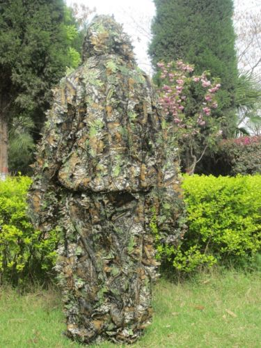 ФОТО Durable Soft Tactical Camouflage Clothing ,Bionic ghillie suit ,Camouflage Hunting clothes for CS War Game