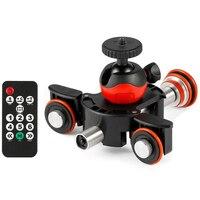 New Camera Video Track Dolly Motorized Electric Slider Motor Dolly Truck for Nikon Canon Dslr Camera Dv Movie Vlogging Gear