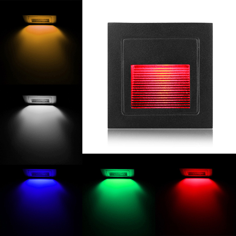 Led Wall Lamps Square 3w Led Wall Light Lamp For Theater