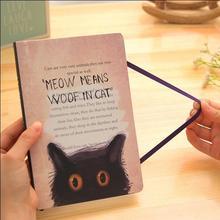 "Black Cats"""" Lined Paper Diary Sketchbook Cute Planner Pocket Journal School Study Notebook Korean Agenda Notepad Memo Gift"""