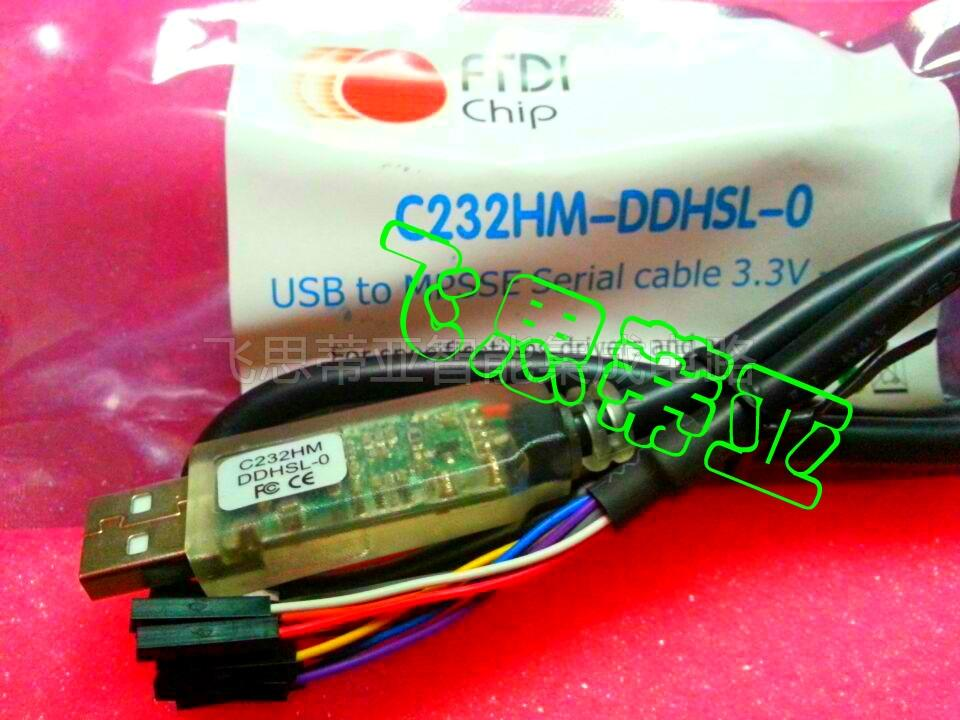 US $38 0 |ftdi C232HM DDHSL 0 data line USBTO HS SPI / I2C / JTAG  conversion rate of 3 3V-in Electronics Stocks from Electronic Components &  Supplies