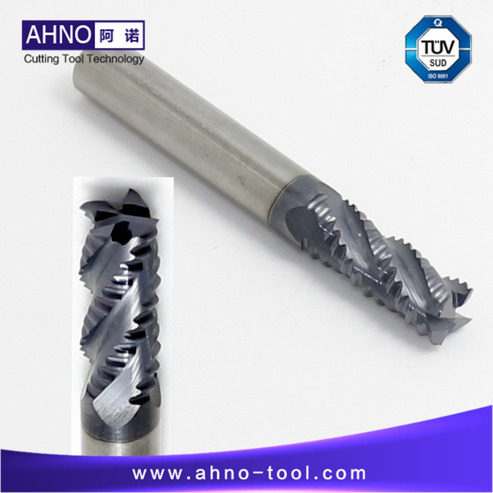 BeRay of AHNO Roughing End Mills for Cast Iron or Steel Tungsten Carbide Milling Cutters from D6.0 to D20.0 for CNC Mill Machine steel d until the end of time