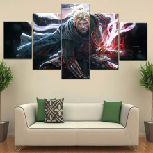 William | Nioh Wiki game 5 Panel HD Print wall posters Canvas Art Painting For home living room decoration