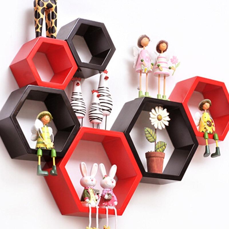 Popular Hexagon Shelf Buy Cheap Hexagon Shelf Lots From