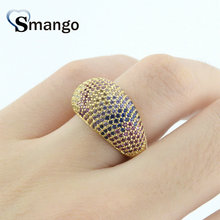 5Pieces,Women Fashion Jewelry,The Rainbow Series Rotundity Rings,Gold Colors,Can Wholesale