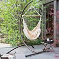 Портативный дорожный Кемпинг подвесной гамак для дома  спальни  качели  кровать  ленивый стул  полиэстер 120 кг  несущая емкость  гамак