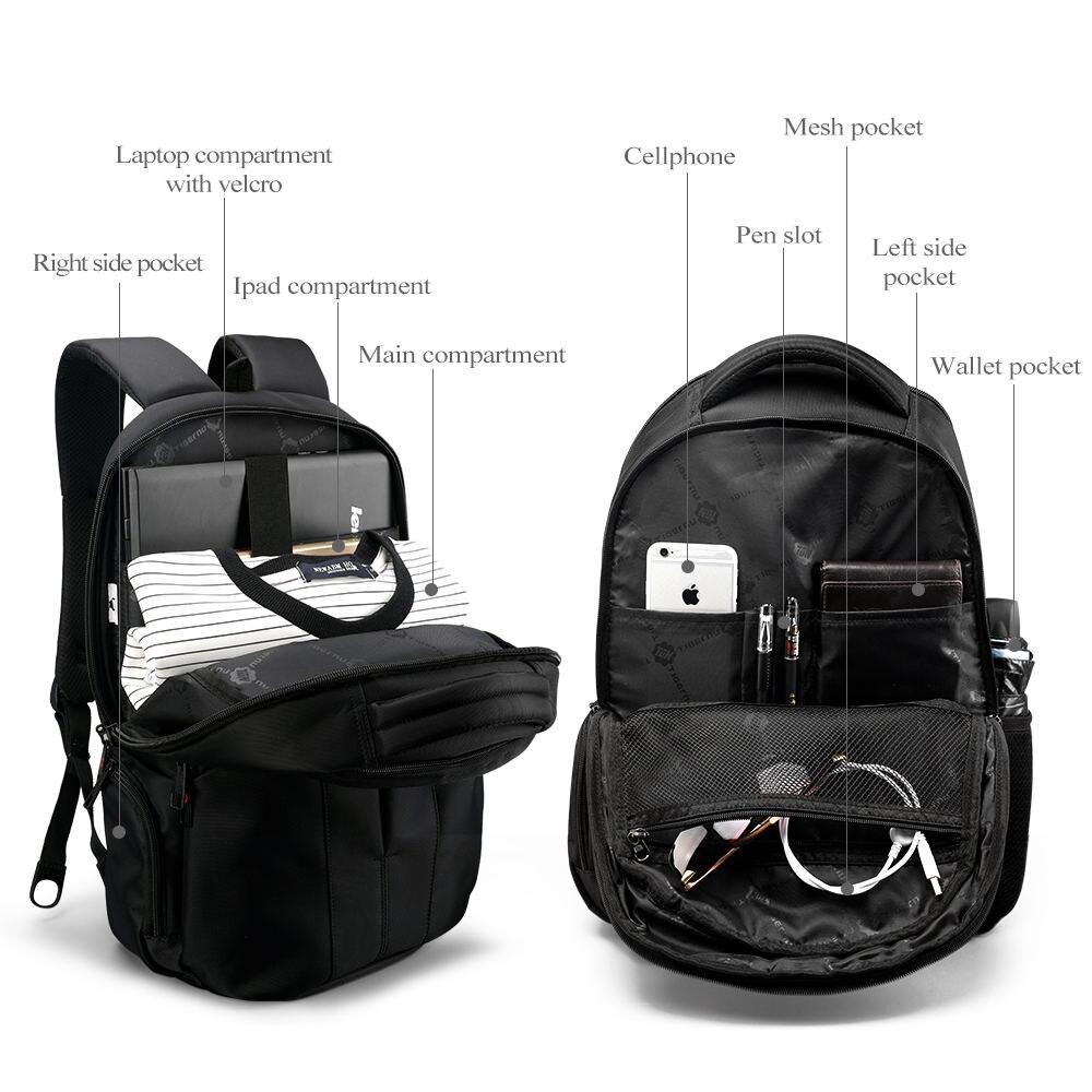 2018 Tigernu Brand waterproof 15.6inch laptop backpack men ...