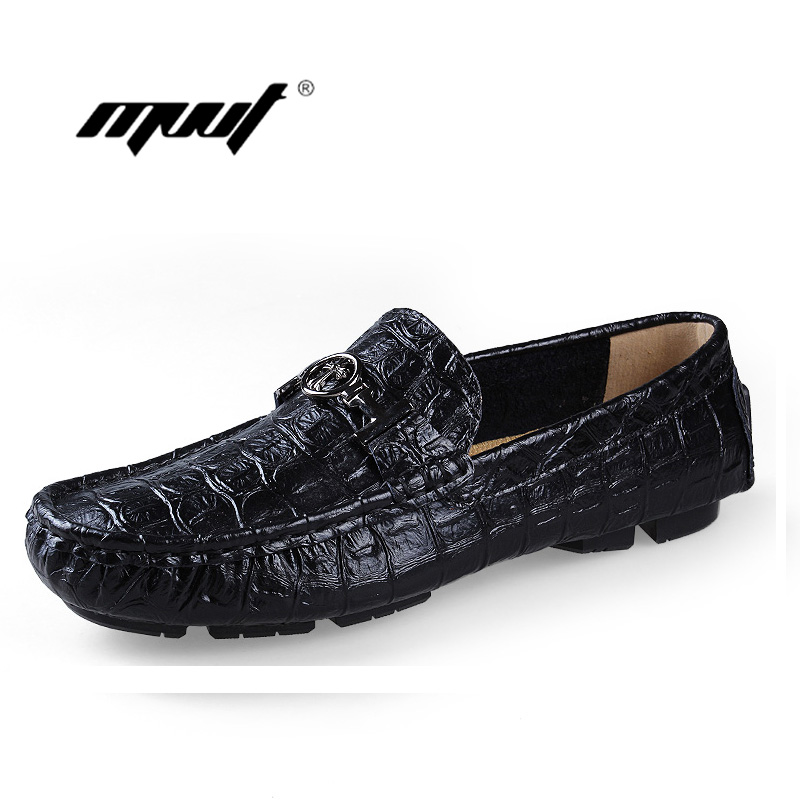 Plus size Genuine Leather Men Flats, Fashion Driving Shoes For Men, Moccasins Leather Men Shoes, New Loafers Free Shipping plus size 2016 leather men dress shoes fashion buckle loafers shoes for man male leather party shoes new brand men flats fpt524