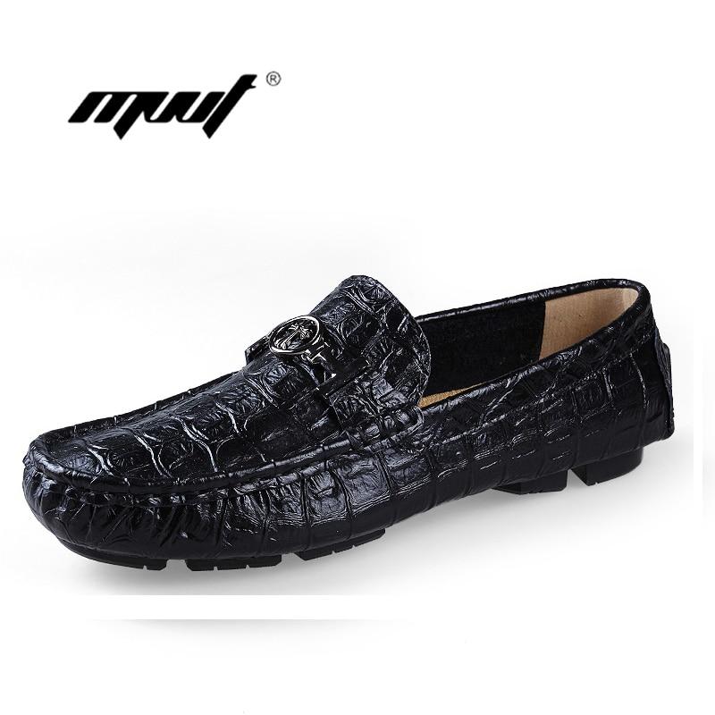 Плюс розмір з натуральної шкіри - Чоловіче взуття