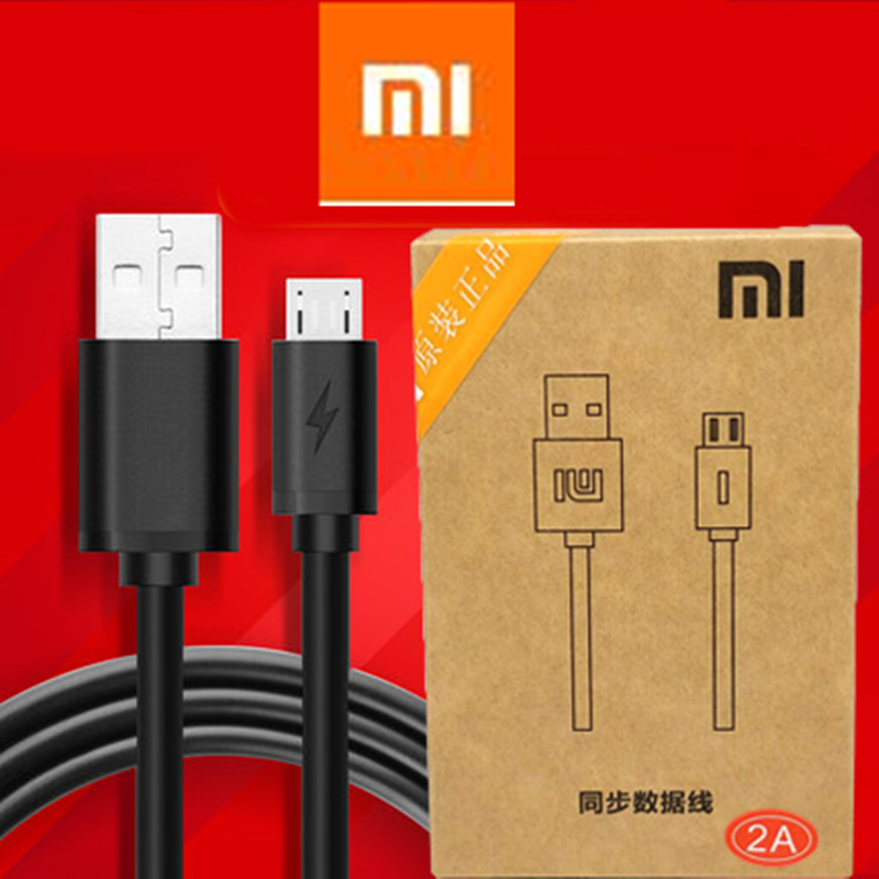 Original XIAOMI Redmi note 4X Charger cable 2A micro usb fast charge cable For MI 1/2/3/4/max Redmi 2/2s/3/3X/3S/4 note 2a 4