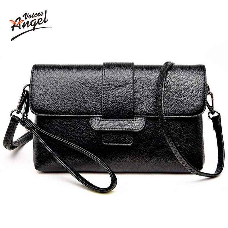 Angel Voic Patent Pu Material Clutch Bag Women Messenger Bags for Women Clutches Evening Bag Casual Small Bolsas Femininas Couro