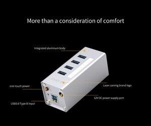 Image 2 - ORICO A3H4 4 พอร์ตอลูมิเนียม USB 3.0 HUB สำหรับแล็ปท็อป 12V2A แหล่งจ่ายไฟได้อย่างง่ายดายไดรฟ์ 4 อุปกรณ์