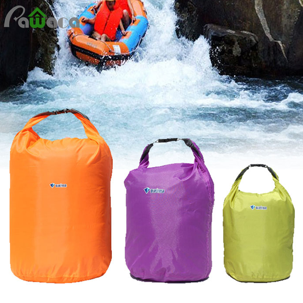 Outdoor Sport Waterproof Storage Bag Dry Bag 20L/40L/70L Portable Camping Travel Kit For Drifting Canoe Kayak Rafting Swimming