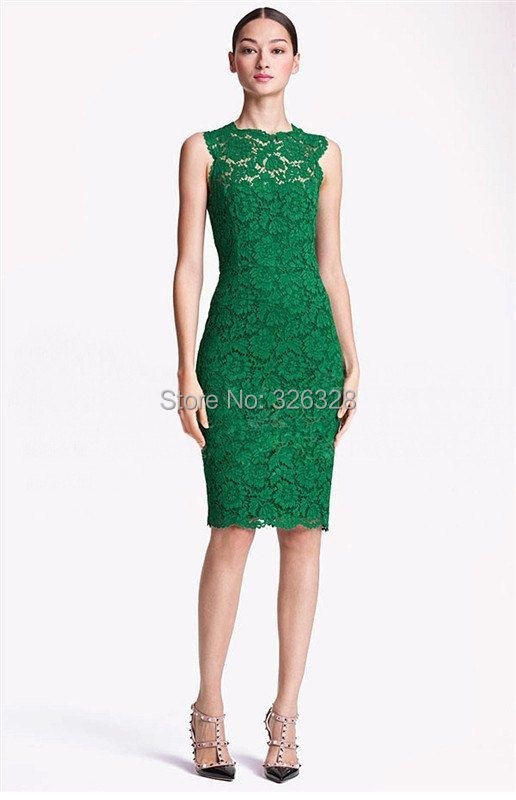 Popular Emerald Green Cocktail Dresses-Buy Cheap Emerald Green ...